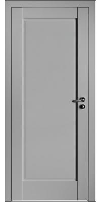 Межкомнатная дверь 100U светло-серый ПГ