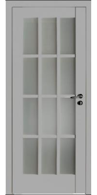Межкомнатная дверь 102U светло-серый ПО