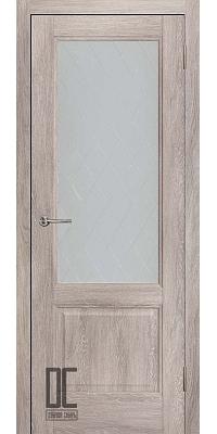 Межкомнатная дверь ЛИРА ПО - Дуб скандинавский