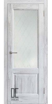 Межкомнатная дверь ЛИРА ПО - Ель альпийская