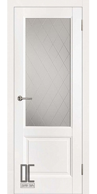 Межкомнатная дверь ЛИРА ПО - White Софт Тач