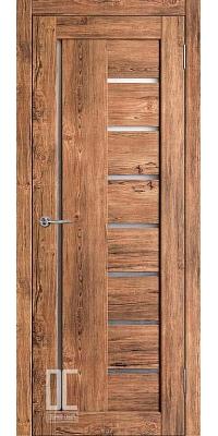 Межкомнатная дверь РАДА ВЕРТИКАЛЬ ПО Софт Тач - Орех Софт Тач