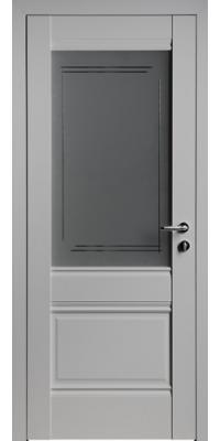 Межкомнатная дверь U2 светло-серый ПО