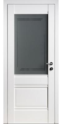 Межкомнатная дверь U2 белый ПО