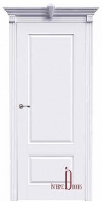 Межкомнатная дверь АККОРД А15 ПГ - Эмаль белая