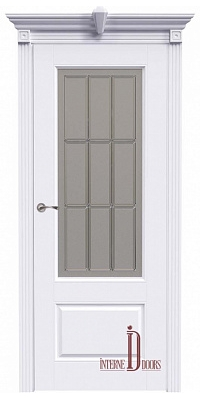 Межкомнатная дверь АККОРД А15 ПО - Эмаль белая