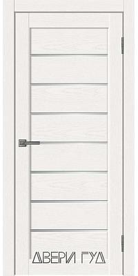 Межкомнатная дверь L-1 ПО - Snow Soft
