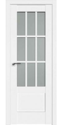 Межкомнатная дверь 104U белый ПО