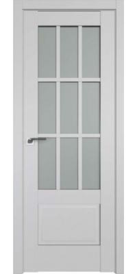 Межкомнатная дверь 104U светло-серый ПО