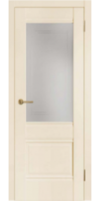 Межкомнатная дверь 2U бежевый ПО