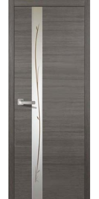 Межкомнатная дверь Соммер Серый Нордик 708 У - Turen Becker (Тюрен Беккер)