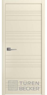 Межкомнатная дверь Соммер ПГ латте - Turen Becker (Тюрен Беккер)