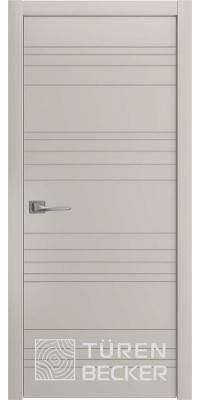 Межкомнатная дверь Соммер ПГ серый камень - Turen Becker (Тюрен Беккер)