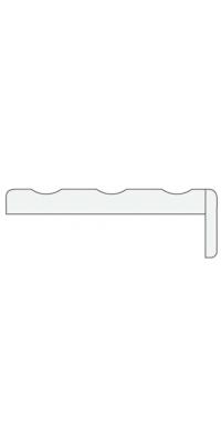 Пилястра телескоп. (1 шт.) серый камень, латте, белая эмаль, слоновая кость - Turen Becker (Тюрен Беккер)
